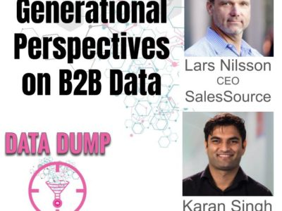 Two Old Dogs and a Young Pup – Generational Perspectives on B2B Data